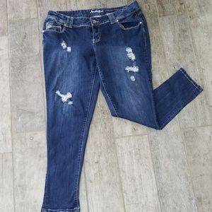 Amethyst Skinny jeans size 16
